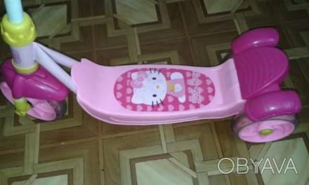 Міцний Скутер-самокат Hello Kitty китайського виробника YaYa - це стильний дизай. Трускавец, Львовская область. фото 1