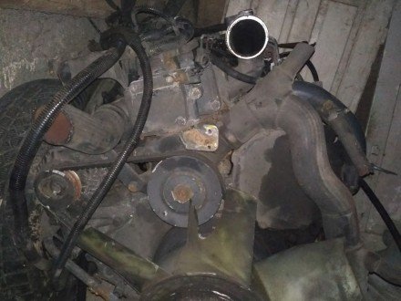 двигун з коробкою передач в зборі, привезений з Польщі.. Ровно, Ровненская область. фото 3