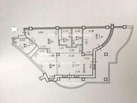 ЛОТ № 1-4: Предлагаю к продаже  4-х комнатную квартиру в элитном ЖК «Кукуруза» н. Аркадія, Одеса, Одеська область. фото 11