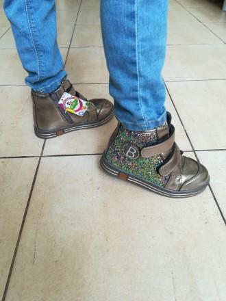 Ботинки отличного качества, очень удобные, проверенные на нашем ребенке, смотрят. Тернополь, Тернопольская область. фото 3