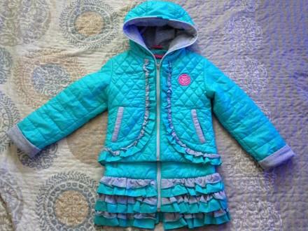 Комплект демисезонный куртка и жилет). Полтава. фото 1
