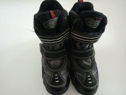 Зимние термо ботиночки для мальчика. Коростышев. фото 1