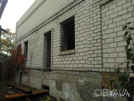 Продается, коробка недостроенного 2-этажного дома, Корабельный район, рядом школ. Октябрське, Миколаїв, Миколаївська область. фото 1
