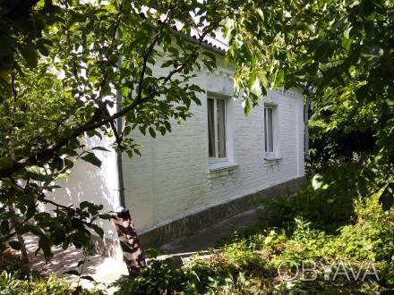 Дом, в селе Киевской обл, кирпич, 70 м.кв, 3 комнаты, кухня - 18 м.кв, в/у, кухн. Херсон, Херсонська область. фото 1