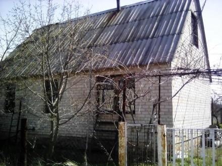 Дача - 6х10. Высота дома 1,5 этажа, 2-й этаж под крышей (на 2 комнаты). Ребристы. Мелітополь, Запорізька область. фото 3