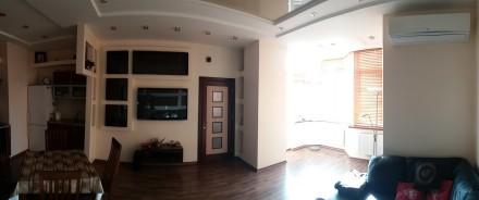 Квартира полностью меблирована и оснащена бытовой  техникой: встроенная мебель и. Великий Фонтан, Одеса, Одеська область. фото 5