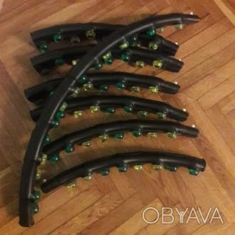Продается двойной массажный хула-хуп для похудения, с магнитами!  Обруч абсолют. Киев, Киевская область. фото 1