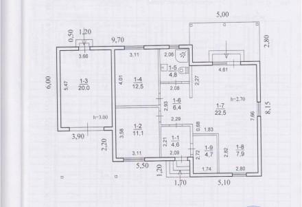97м.кв. 1-но этажный. Дом оснащен дышащими натяжными потолками, системой рекупер. Одинковка, Дніпро, Дніпропетровська область. фото 11