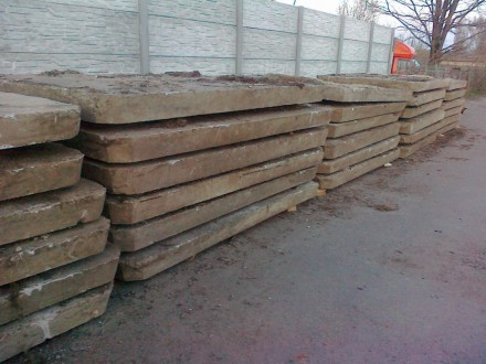 Жби дорожные плиты б/у толщиной 14см , 16см , 18см , размерами 3х2 , 3х1.5 , 3х1. Киев, Киевская область. фото 4