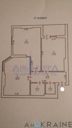(010) Продам 2-х комнатную квартиру в ЖК Левитана Радужный Таирова Продам 2-х к. Таірова, Одеса, Одеська область. фото 3