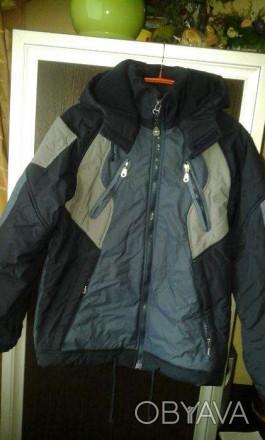 Куртка демисизонная для мальчика, длина изделия-63 см, длина рукава-54 см, ширин. Киев, Киевская область. фото 1