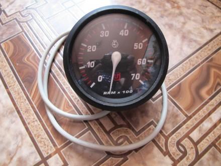 Тахометр для подвесного лодочного двигателя. Бахмут (Артемовск). фото 1