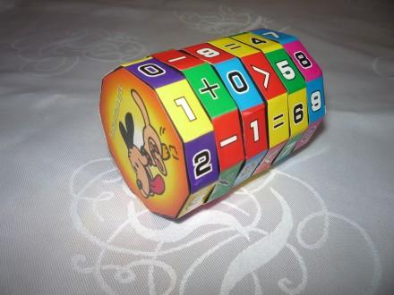 Развивающая интеллектуальная игрушка Математическая головоломка. Николаев. фото 1
