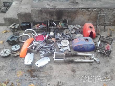 Продам остатки запчастей от мотоциклов ява/чезет 350. Дополнительные фото по зап. Кременчуг, Полтавская область. фото 1
