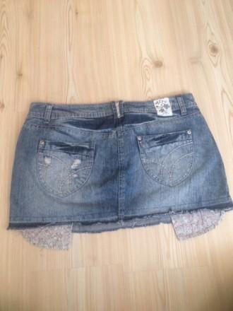 новая джинсовая  юбка , размер 10/38/L , лежала пару лет , но ни разу так и не н. Киев, Киевская область. фото 6