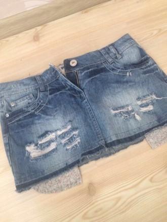 новая джинсовая  юбка , размер 10/38/L , лежала пару лет , но ни разу так и не н. Киев, Киевская область. фото 2