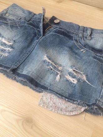 новая джинсовая  юбка , размер 10/38/L , лежала пару лет , но ни разу так и не н. Киев, Киевская область. фото 5