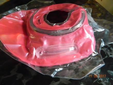Продам круг для купания (цвет розовый).  Состояние новое. Внутри есть звенящие. Каменское, Днепропетровская область. фото 4