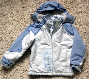 Зимова термо куртка Quechua для дівчинки 8 років. Львов. фото 1
