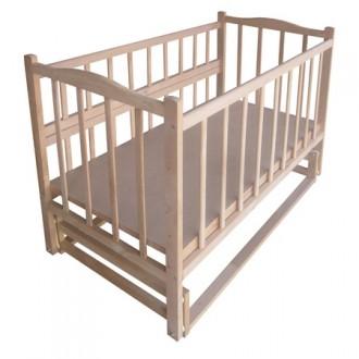 Детская кроватка модель №4  (с маятниковым механизмом). Днепр. фото 1