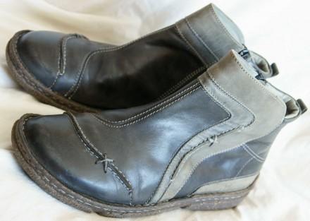 Ботинки Josef Seibel (Германия), натуральная кожа, р.39. Киев. фото 1