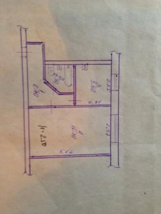 Продам однокомнатную квартиру по Панаса Мирного 23.  Дом расположен на второй л. Ингулецкий, Кривий Ріг, Дніпропетровська область. фото 7