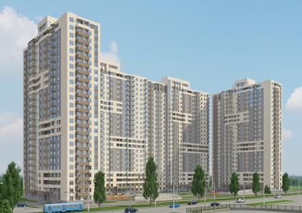 ------ЖК Альтаир.  1-секция заселена.  2-ком квартира.  Юго-восточная.  . Черемушки, Одеса, Одеська область. фото 3
