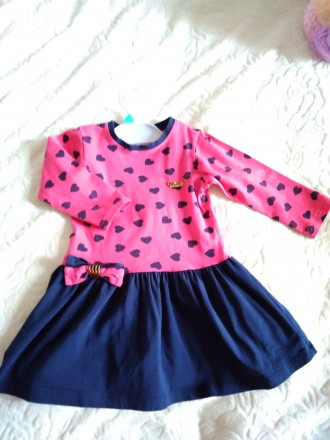 Трикотажное платье с длинным рукавом. Ужгород. фото 1