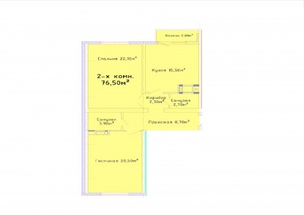 СРОЧНО! Продам свою 2-х комнатную квартиру на Черемушках. Общая площадь 77/45/16. Таірова, Одеса, Одеська область. фото 4