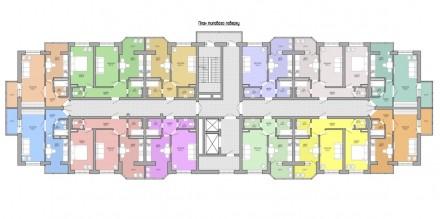 Купить квартиру в ЖК «Акварель» от застройщика можно в трех вариантах – без отде. Таірова, Одеса, Одеська область. фото 4
