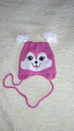 Красивая шапка для девочки. Ужгород. фото 1