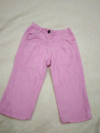 Вельветовые штаны на девочку. Ужгород. фото 1