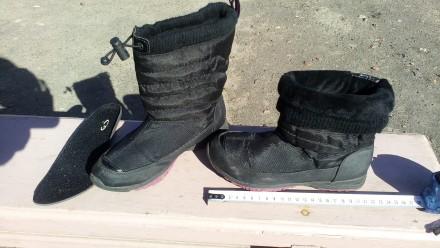 Ботинки зима осень детские 22см. Ирпень. фото 1