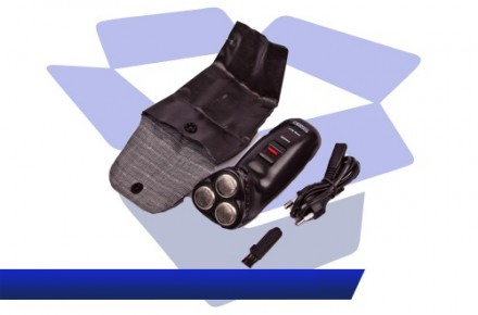 Профессиональная мужская электро бритва-триммер Toshiko TK-356 Deluxe. Днепр. фото 1