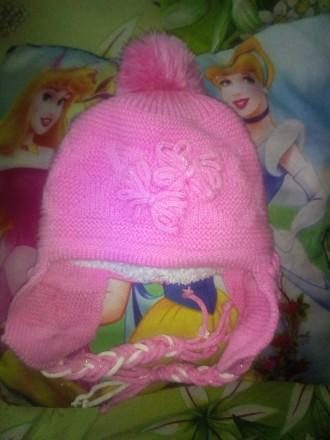 Зимняя шапка для девочки. Запорожье. фото 1