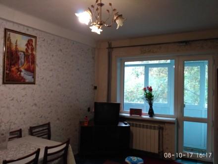 Квартира с автономным отоплением, комнаты раздельные по 15кв.м, су/раздельный, н. Баглейский, Кам'янське, Дніпропетровська область. фото 3