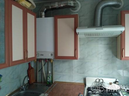 Квартира с автономным отоплением, комнаты раздельные по 15кв.м, су/раздельный, н. Баглейский, Кам'янське, Дніпропетровська область. фото 1