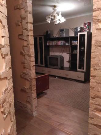 2 комнатная квартира, современный ремонт, с мебелью, бытовой техникой, 4500 рубл. Ворошиловский, Донецк, Донецька область. фото 2