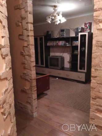 2 комнатная квартира, современный ремонт, с мебелью, бытовой техникой, 4500 рубл. Ворошиловский, Донецк, Донецька область. фото 1