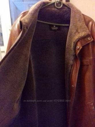 Кожаная зимняя курточка, пальто, дубленка. Кропивницкий. фото 1