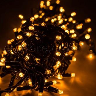 Уличная светодиодная гирлянда 100 LED 10 м черный провод. Харьков. фото 1