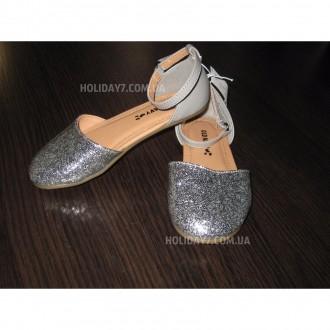 В наличии серебрмстые и золотистые туфельки для девочки от OLD NAVY (США)  раз. Луцк, Волынская область. фото 8