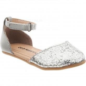 В наличии серебрмстые и золотистые туфельки для девочки от OLD NAVY (США)  раз. Луцк, Волынская область. фото 3