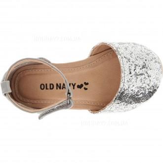 В наличии серебрмстые и золотистые туфельки для девочки от OLD NAVY (США)  раз. Луцк, Волынская область. фото 4