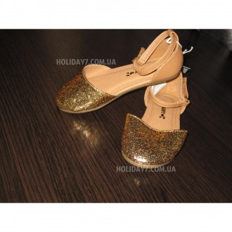 В наличии серебрмстые и золотистые туфельки для девочки от OLD NAVY (США)  раз. Луцк, Волынская область. фото 7