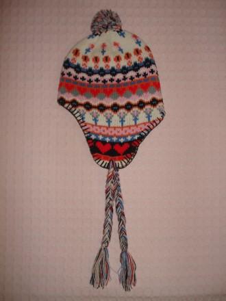 Демисезонная шапка на девочку до 1 года. Херсон. фото 1