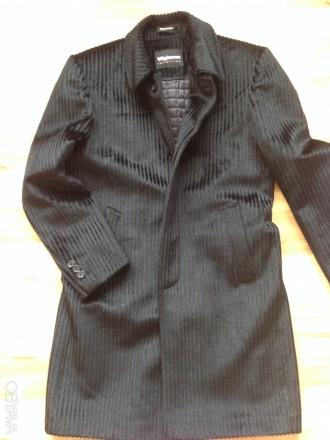 Продам мужское пальто демисезонное . Размер М. Одевалось несколько раз. Состояни. Обухов, Киевская область. фото 3