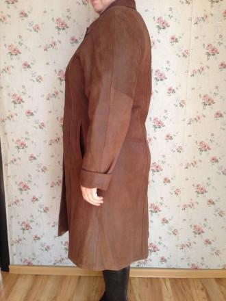 Продам женское пальто, размер 52-54,длина рукава 62 см, но можно регулировать ма. Обухов, Киевская область. фото 3