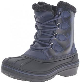 Ботинки зимние Crocs AllCast II Luxe Snow Boot раз. US6 -23см (наш 36). Киев. фото 1