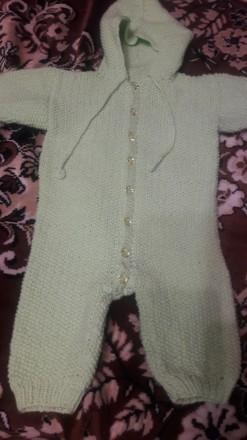 Комбинезон детский вязаный. Кривой Рог. фото 1